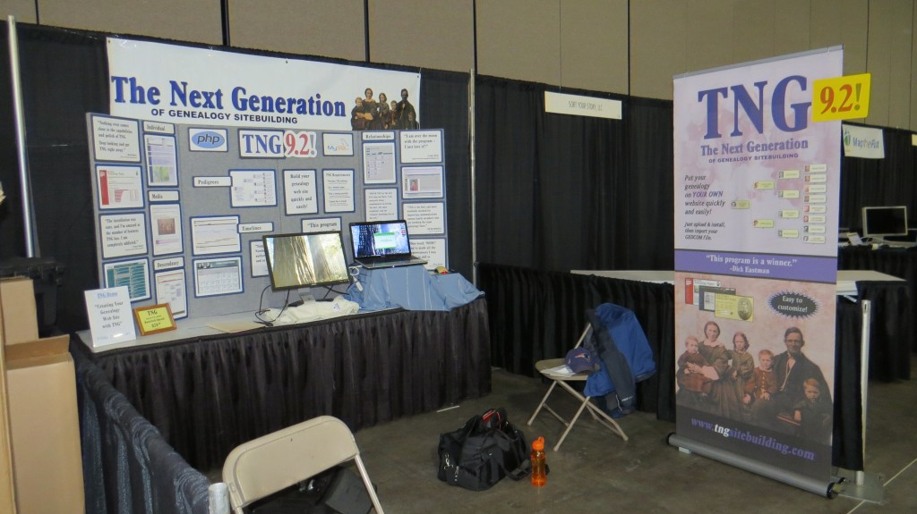 TNG Booth RootsTech